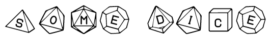 unJiggled dMixed dice